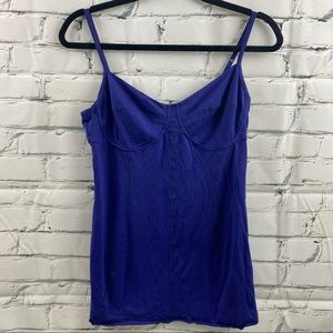 Wilfred adjustable strap tank top